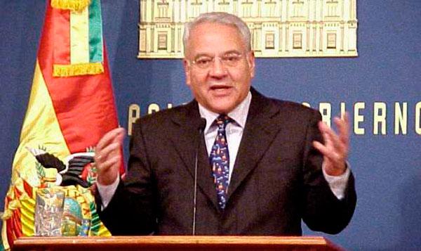 EE.UU. admite solicitud de extradición de expresidente boliviano Gonzalo Sánchez de Lozada