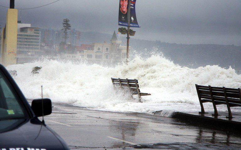 La pesadilla continúa en la costa: Alerta por marejadas desde este miércoles