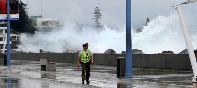 Armada alerta llegada de marejadas con olas de hasta 4 metros