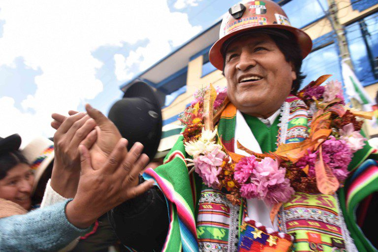 """Evo acusa a Chile """"juega sucio"""" para evitar que Bolivia presida la CELAC"""