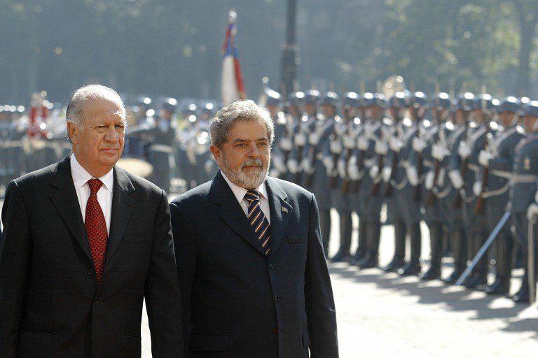 Lula da Silva recibe el apoyo de Ricardo Lagos