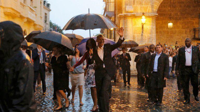 ¡HISTÓRICO!: Obama rinde honores a José Martí en la Plaza de la Revolución cubana