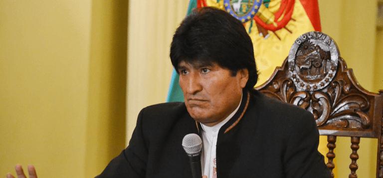 """Evo sube el tono y trata a Chile de """"ladrón"""""""