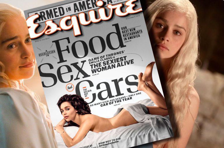 Emilia Clarke, elegida la mujer viva más sexy del mundo por la revista Esquire