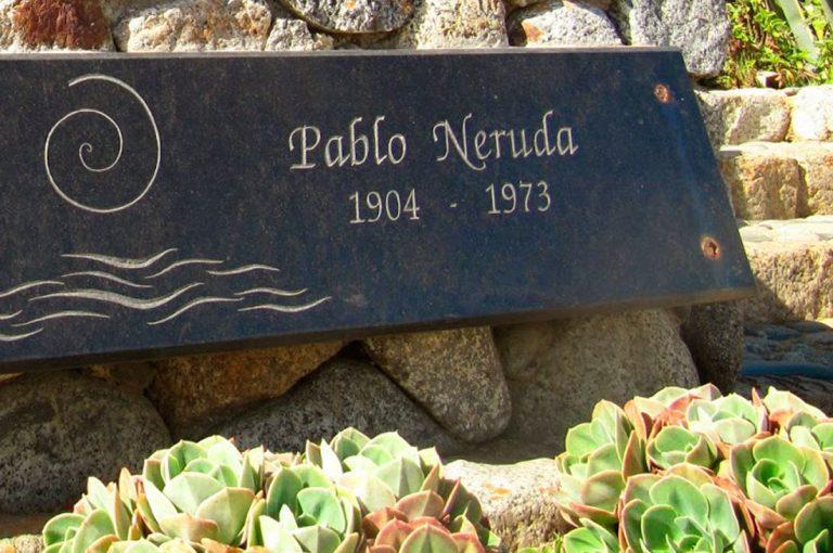 Pablo Neruda descansará definitivamente en Isla Negra