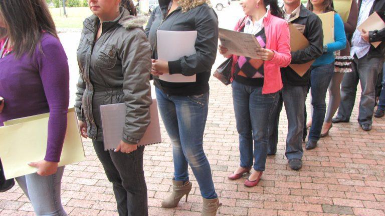 Desempleo nacional escaló hasta el 10,3% en el trimestre diciembre 2020-febrero 2021