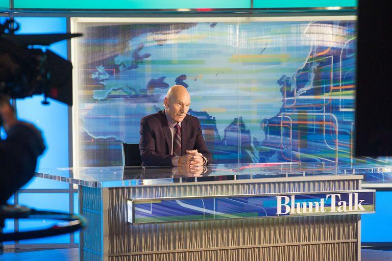 """Estreno de la serie cómica """"Blunt Talk"""" con Patrick Stewart"""