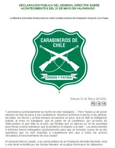 DECCARABINEROS 21MAYO