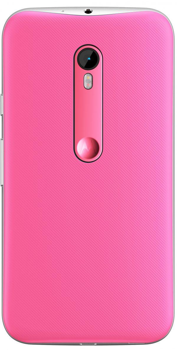 Moto G 3ra G Pink