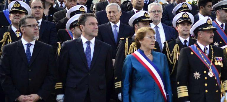 Presidenta Bachelet encabeza ceremonia por 137 años de Combate Naval de Iquique