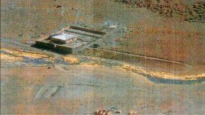 Cuartel militar boliviano ubicado a 1,5 kilómetros de la frontera con Chile y que vulnera los acuerdos internacionales sobre este tipo de instalaciones en áreas restringidas para las fronteras.