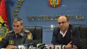 Ministro de Defensa de Bolivia, Reymi Ferreira asegura que supuesta base militar chilena cuenta con alto poder de fuego.