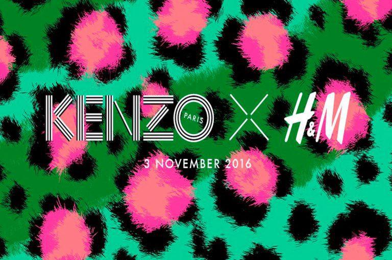 Kenzo creará la colección: Kenzo x HM