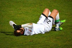 Futbolista herido