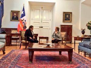 Bachelet y Don Francisco