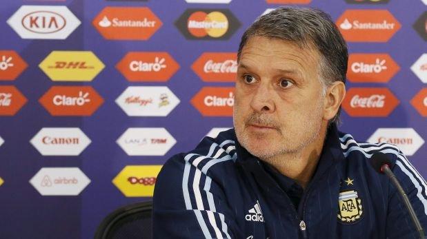 """Gerardo Martino, DT de Argentina: """"No podemos perder otra final"""""""