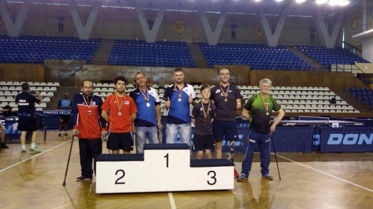 En Rumania, equipo chileno paralímpico consiguió medalla de Plata