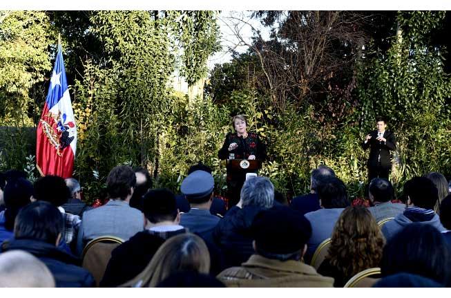 Bachelet promulga ley que establece el Derecho Real a la Conservación Medioambiental
