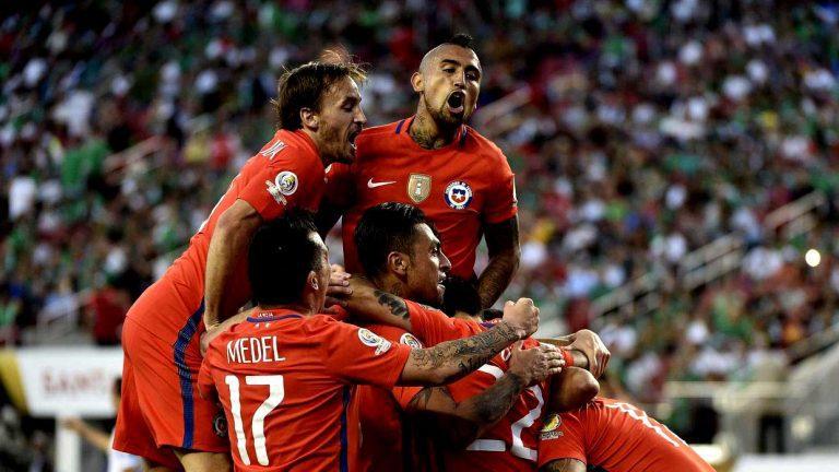 Goleada histórica de La Roja sobre México: 7 – 0