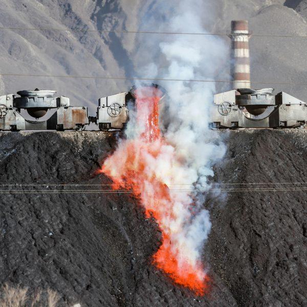 El paisaje de los relaves mineros