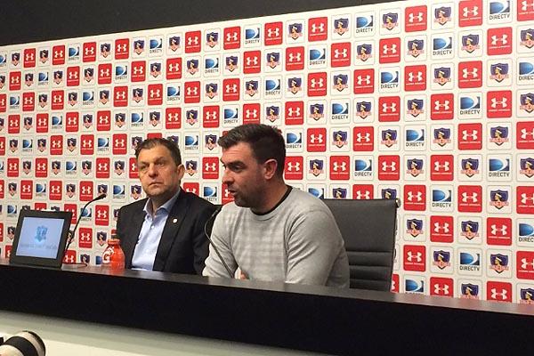 """Pablo Guede: """"Es difícil decirle que no a Colo-Colo cuando te vienen a buscar"""""""
