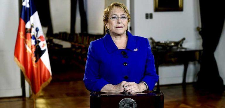 """AUDIO: Presidenta Bachelet al anunciar proyecto de Ley de Educación Superior: """"La educación no es un bien de consumo"""""""
