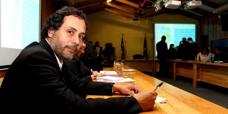 Seremi  de Economía de Aysén, Mark Buskaglia.