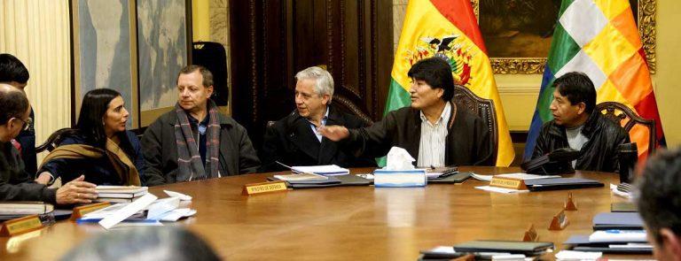 Tras visita de Choquehuanca: Evo reclama malos tratos en estratégica búsqueda de bloquear Tratado de 1904
