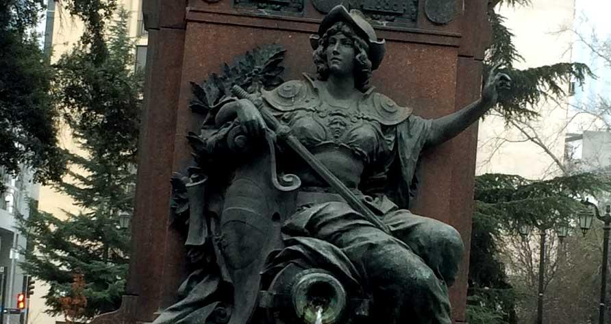 Reportaje gráfico: Sobrevivientes monumentos y fuentes de agua de Santiago