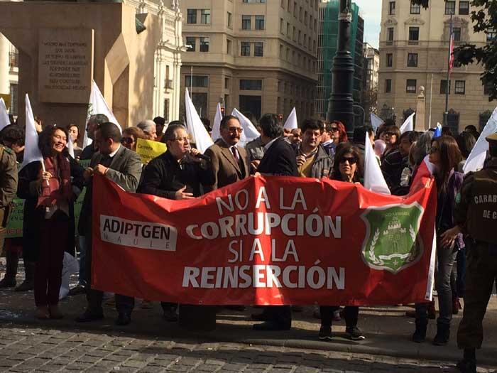 Otras organizaciones de funcionarios de Gendarmería también se han manifestado denunciando malas prácticas laborales en la institución dependiente de Justica.