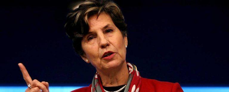 Senadora Allende en Consejo General del PS: Piñera ha sido el emblema de la confusión entre política y negocios