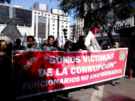 """Funcionarios civiles de Gendarmería denuncian: """"Somos víctimas de la corrupción"""""""