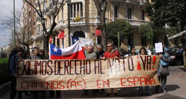 Cada vez más cerca la posibilidad de voto de chilenos en el mundo