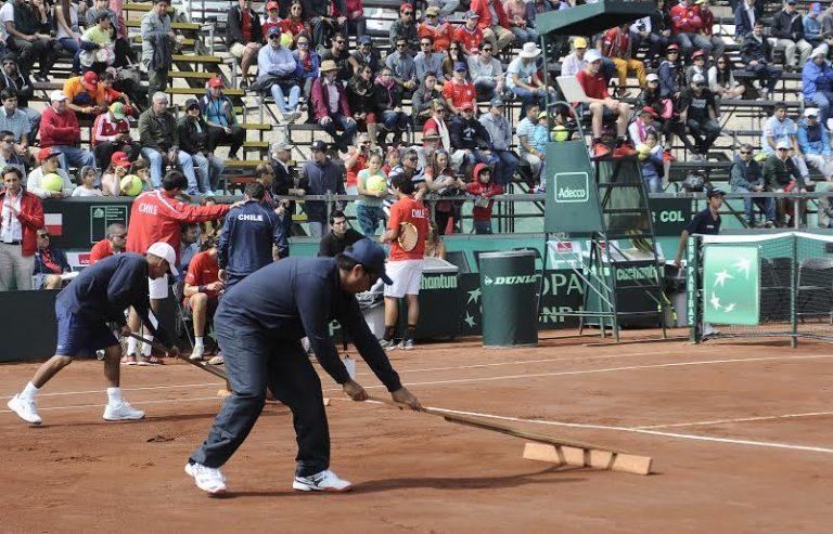 Por las malas condiciones de la cancha en Iquique ITF multó a Chile