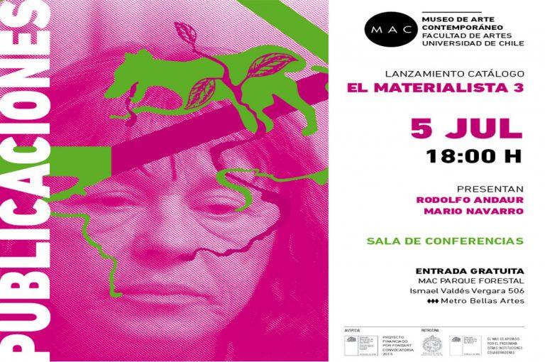 Lanzamiento de catálogo: El Materialista 3, de Mario Navarro