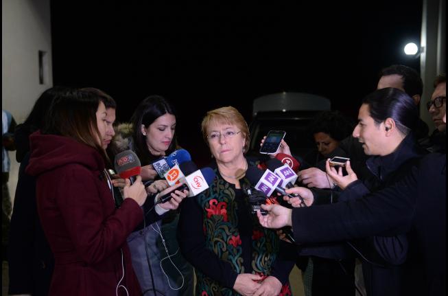 Presidenta Bachelet repudia masacre en Niza y envía condolencias a Francia