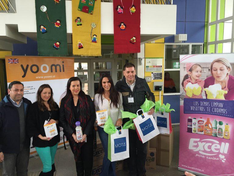Mey Santamaría llama a empresarios a cuadrarse con los niños