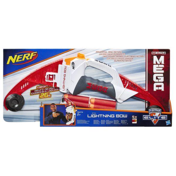 Nerf MEGA Lightning Bow Empaque