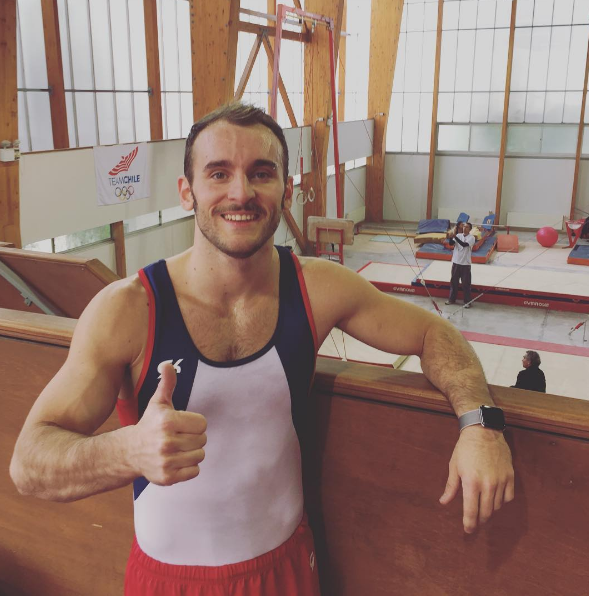 Tomás González está listo para los Juegos Olímpicos