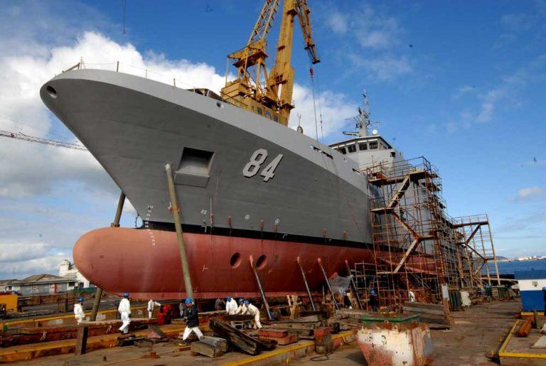 Armada construye cuarto moderno patrullero oceánico