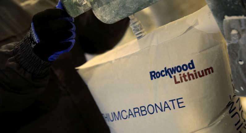 Matriz de Rockwood alcanza 38% del mercado del litio dejando atrás a SQM