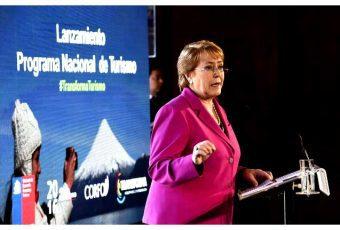 "Bachelet lanza programa ""Transforma Turismo"""