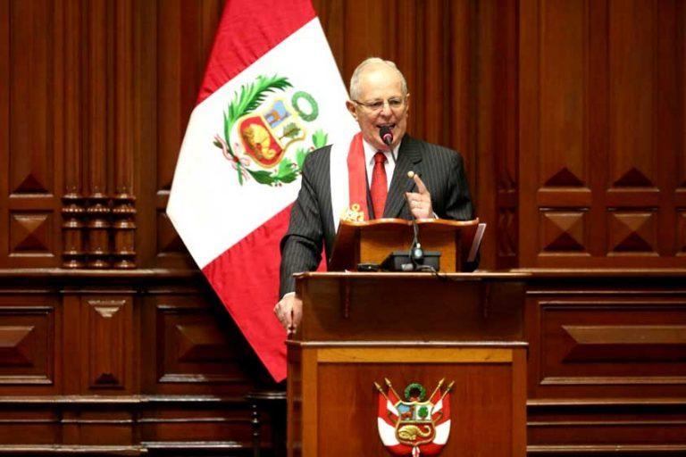 Presidente Kuczynski insta a  Sudamérica a unirse contra el proteccionismo de Trump