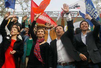 En medio de cuestionamientos por financiamiento irregular de la política el PPD lanzó en campaña municipal
