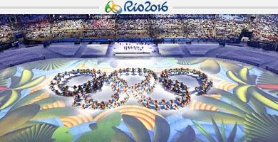 Bárbara Riveros fue la delegada chilena en la despedida de los Juegos Olímpicos Río 2016