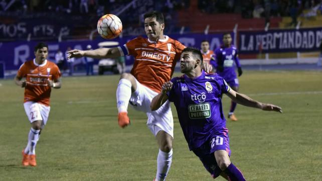 Derrota de la UC ante Real Potosí complica su clasificación en la Sudamericana