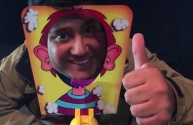 VIDEO: Nachito Pop y Cristobal Romero como niños se la juegan a lo grande