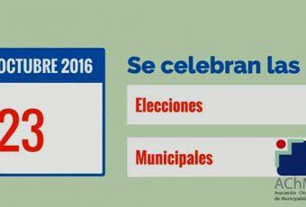 AChM lanza video sobre las próximas elecciones municipales del 23 de Octubre