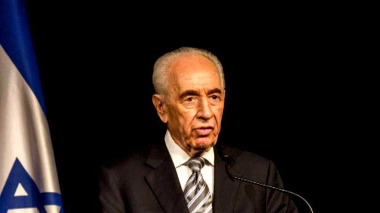 Israel de luto: Muere Shimon Peres ex Presidente y premio nobel de la Paz