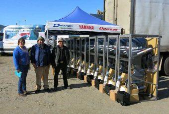 Mehuín: Pescadores artesanales reciben nuevos motores para sus embarcaciones